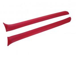 Накладки передних стоек ВАЗ 2101, 2102, 2103, 2106 (красные)