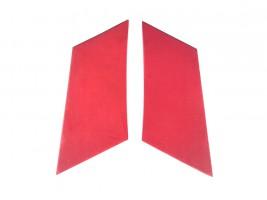 Накладки задних стоек ВАЗ 2101, 2102, 2103, 2104, 2105, 2106, 2107 (красные) Autoelement