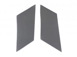 Накладки задних стоек ВАЗ 2101, 2102, 2103, 2104, 2105, 2106, 2107 (серые) Autoelement