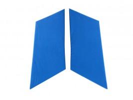 Накладки задних стоек ВАЗ 2101, 2102, 2103, 2104, 2105, 2106, 2107 (синие) Autoelement