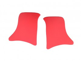 Накладки уголки передние ВАЗ 2101, 2102, 2103, 2104, 2105, 2106, 2107 (красные)