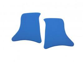 Накладки уголки передние ВАЗ 2101, 2102, 2103, 2104, 2105, 2106, 2107 (синие) Autoelement