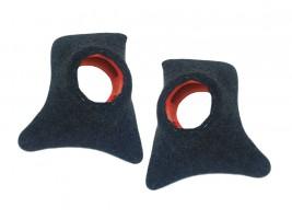 Накладки уголки передние с подиумами на 13 см ВАЗ 2101, 2102, 2103, 2104, 2105, 2106, 2107 (карпет)