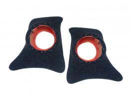 Накладки уголки передние с подиумами на 16 см ВАЗ 2101, 2102, 2103, 2104, 2105, 2106, 2107 (карпет)