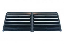Жалюзи солнцезащитные ВАЗ 2101, 2103, 2105, 2106, 2107 (пластик, черные) (под покраску)