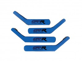 Ручки-подлокотники ВАЗ 2101, 2102, 2103, 2104, 2105, 2106, 2107 (сине-черные), комплект 4 шт. Autoelement