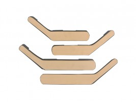 Ручки-подлокотники ВАЗ 2101, 2102, 2103, 2104, 2105, 2106, 2107 (бежевые), комплект 4 шт. Autoelement