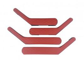 Ручки-подлокотники ВАЗ 2101, 2102, 2103, 2104, 2105, 2106, 2107 ромб (красные), комплект 4 шт. Autoelement