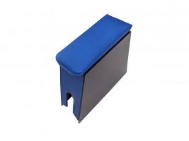 Подлокотник для ВАЗ 2105, 2107 (шире чем 2101) бюджет (синий)