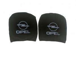 Чехол подголовника с логотипом Opel черный (2 шт.) Украина