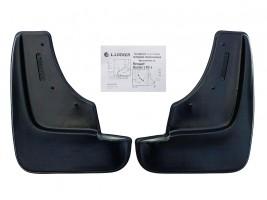 Брызговики передние увеличенные Renault Duster 2010- (2 шт.) L.Locker