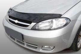 Дефлектор капота Chevrolet Lacetti 2004-2013 хетчбек АБС Azard
