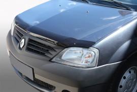 Дефлектор капота Renault Logan (Dacia) АБС