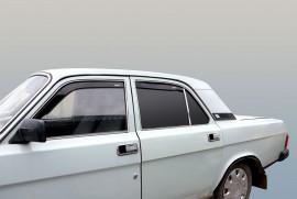 Дефлекторы окон ГАЗ 3110-105 Волга (вставные) Azard