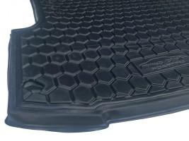 Ковер багажника Ford Focus III хэтчбек 2011- (с докаткой)