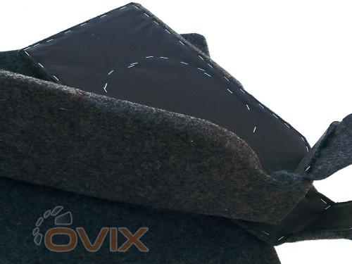 Украина Акустическая полка ВАЗ 2108, 2109, 2113, 2114 с боковинами (липучка) в карпете с подиумами из ДСП - Картинка 5