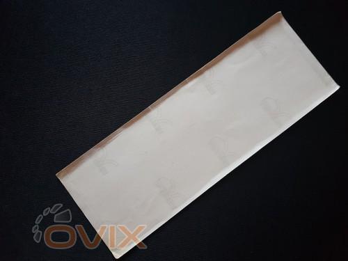 """Украина Наклейка табличка """"Аварійний вихід"""" (Белый фон, h=65 мм, l=195 мм) - Картинка 3"""