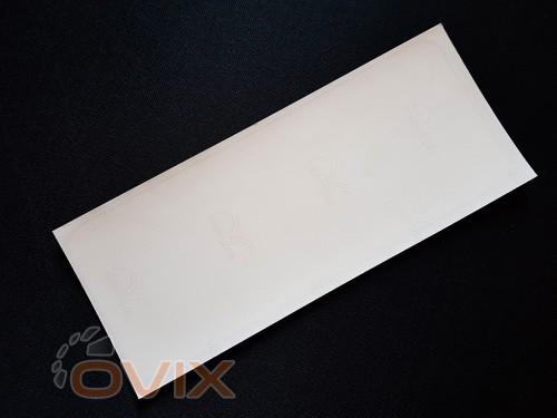 """Украина Наклейка табличка """"В салоне не кушать!"""" (Белый фон, h=75 мм, l=200 мм) - Картинка 3"""