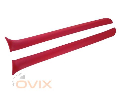 Autoelement Накладки передних стоек ВАЗ 2101, 2102, 2103, 2106 (красные) - Картинка 1
