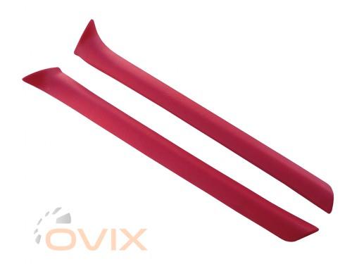Autoelement Накладки передних стоек ВАЗ 2101, 2102, 2103, 2106 (красные) - Картинка 2
