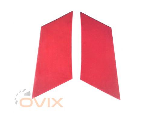Autoelement Накладки задних стоек ВАЗ 2101, 2102, 2103, 2104, 2105, 2106, 2107 (красные) - Картинка 1