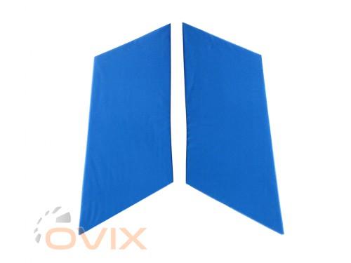 Autoelement Накладки задних стоек ВАЗ 2101, 2102, 2103, 2104, 2105, 2106, 2107 (синие) - Картинка 1