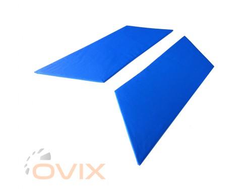 Autoelement Накладки задних стоек ВАЗ 2101, 2102, 2103, 2104, 2105, 2106, 2107 (синие) - Картинка 2