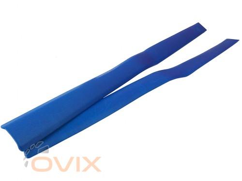 Autoelement Накладки центральных стоек ВАЗ 2101, 2102, 2103, 2104, 2105, 2106, 2107 (синие) - Картинка 2