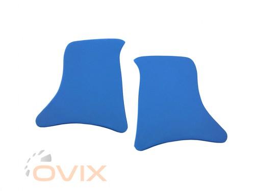 Autoelement Накладки уголки передние ВАЗ 2101, 2102, 2103, 2104, 2105, 2106, 2107 (синие) - Картинка 1